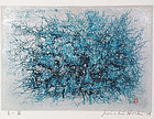 Joichi HOSHI print BLUE THICKET 1974