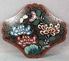 19c Japanese cloisonne BELT BUCKLE