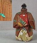 Meiji netsuke SAMBASO DANCER by NARIKAZU