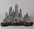 Old Chinese YULAN SCHOLAR�S ROCK mountain range
