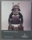 CHRISTIES catalog Japanese Swords fittings 1984