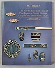 SOTHEBYS catalog Japanese Swords fittings 1990