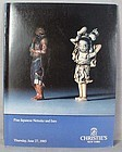 Catalog FINE JAPANESE NETSUKE AND INRO 1985