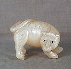 19c netsuke mother of pearl TIGER