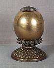 19c Chinese Mandarin HAT BUTTON / FINIAL 7th rank