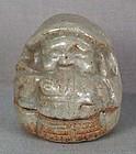 19c tea ceremony KOGO DAIKOKU with rice bale