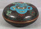 19c JAPANESE CLOISONNE tea ceremony KOGO