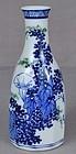 19c Japanese porcelain tokkuri SAKE BOTTLE