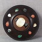 19c netsuke Shibayama Precious Gems & Daikoku MALLET