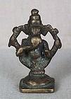 19c Indian bronze GANESHA