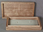 Boxes for pair of Japanese sword Menuki /fuchi-kashira