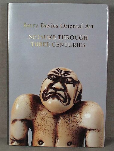 Catalog Barry Davies 1996 Netsuke through 3 Centuries