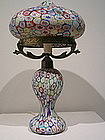 Superb Murrine Lamp by Fratelli Toso