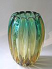 Sommerso vase by Flavio Poli for Seguso Vetri d'Arte