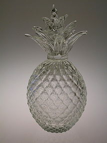 Vintage Murano  Glass Pineapple by Archimede Seguso