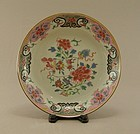 Chinese Porcelain Dish Famille Rose 18th Century
