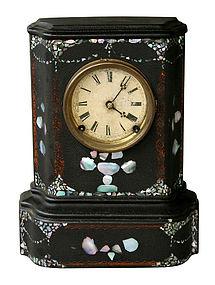 Iron Front Clock