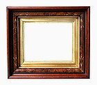 Antique Picture Frame: