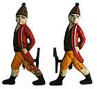 Hessian Soldier Andirons