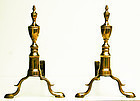Double Urn Andirons