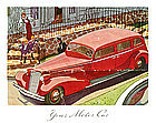 Cadillac Original Sales Folder 1934