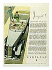 Original 1934 Cadillac Ad