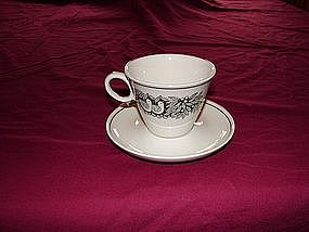 Franciscan cup and saucer