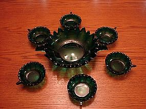 Emerald Green Bowl set