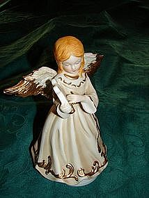 Porcelain Angel Music box