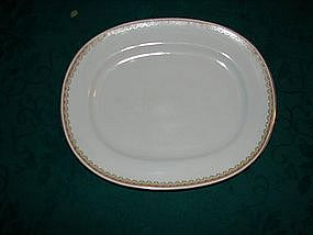 "H & C co. Selb Bavaria serving bowl. 13"" oval platter"