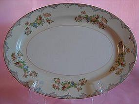 Mayfair china oval serving platter