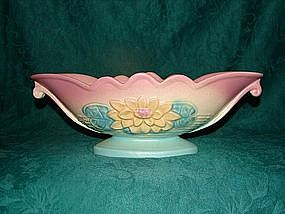 Hull waterlilly centerpiece bowl