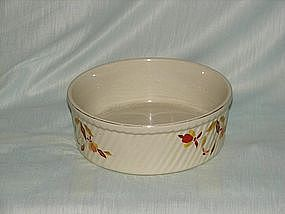 Hall Jewel Tea Autumn Leaf deep bakers bowl