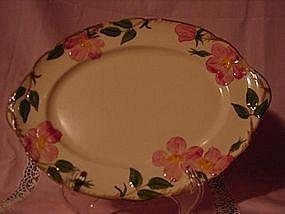 "Franciscan Desert Rose  14"" serving platter"