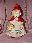 McCoy Little Red Riding Hood Cookie Jar