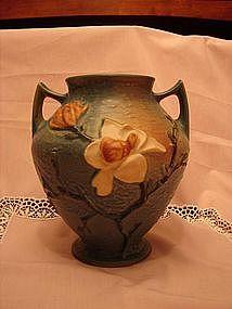 Roseville Blue Magnolia vase.