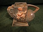 Roseville Blue Magnolia vase