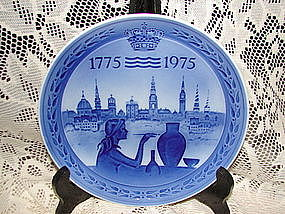 Royal Copenhagen Bicenentary Collector Plate