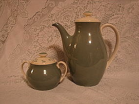 Royal Doulton Teapot and sugar bowl