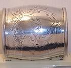 Rare American Coin Silver Sterling Napkin Ring c. 1850