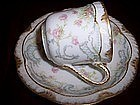 Exquisite Haviland Limoges Demitasse Cup and Saucer