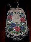 Gorgeous Antique Micro Beaded Bag Purse c.