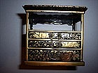 Doll House Furniture Miniature Japanese Lacquer Chest