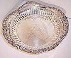 """Vintage Tiffany Sterling Silver Bon Bon Bowl 6 1/2"""""""