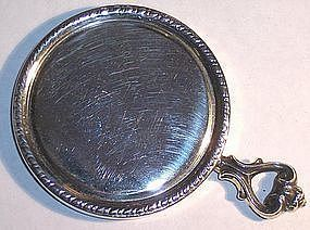 Small Sterling Hand Mirror for Purse Blackington 1920