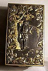 Japanese Metalwork Box Meiji