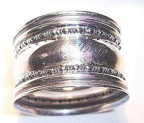 Antique Sterling Silver Gorham Napkin Ring