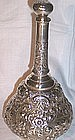 American Sterling Repousse Perfume/Cologne Bottle