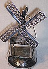 Miniature Dutch Sterling Silver Windmill Hallmarked