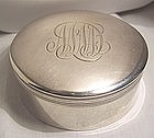 Simply Elegant Fine Early Tiffany Sterling Box c. 1891